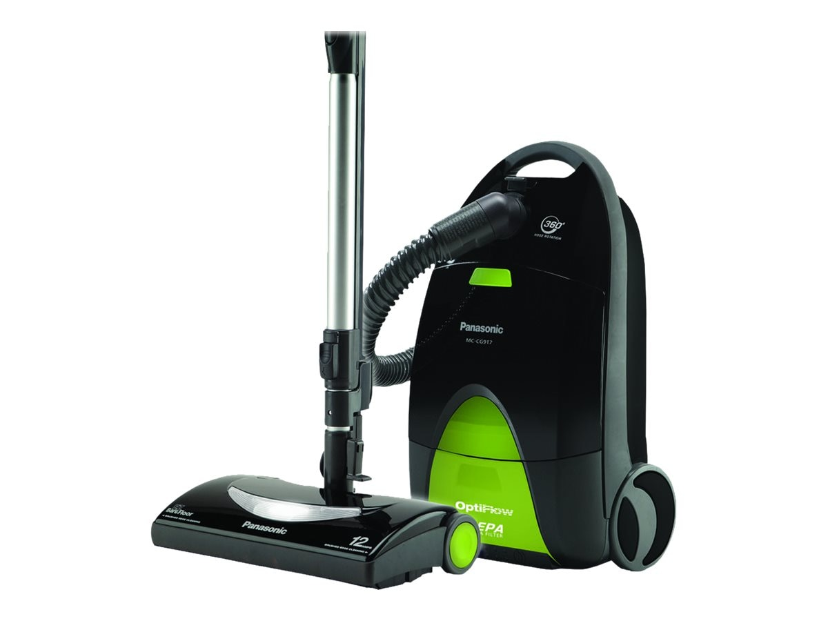 Panasonic Canister Vacuum Cleaner with OptiFlow Technology