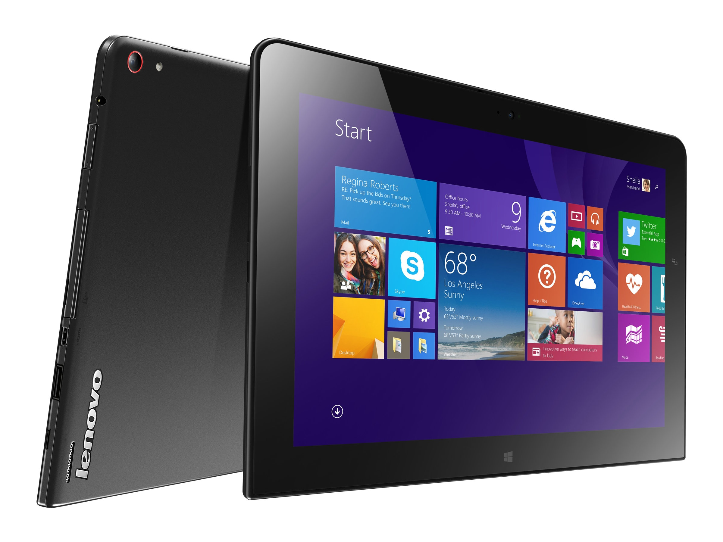 Lenovo TopSeller ThinkPad 10 1.6GHz processor Windows 8.1 Small Screen Touch (SST), 20C10001US