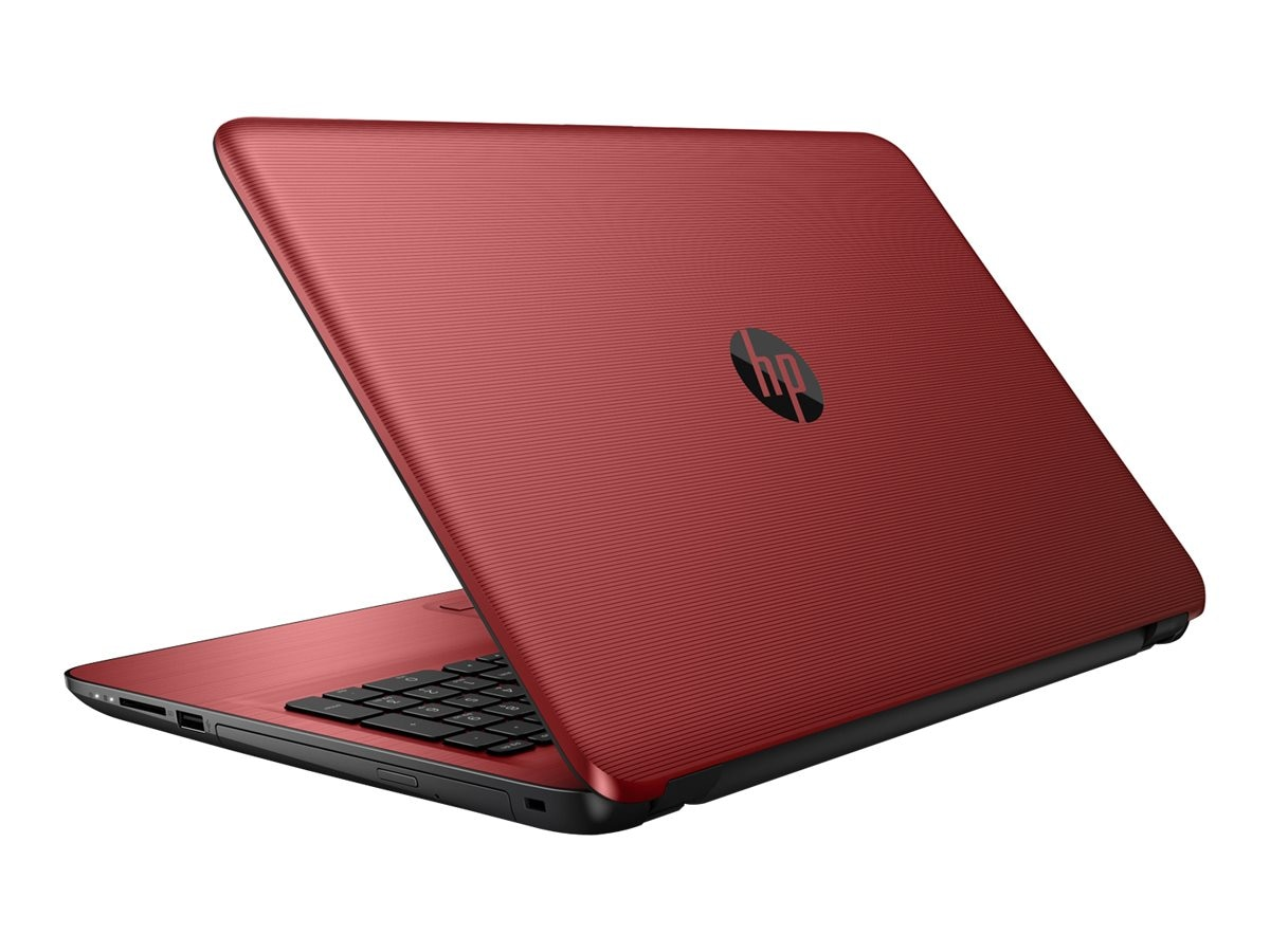 HP Notebook PC A8-7410 1TB 15.6 W10, Red, X0H91UA#ABA