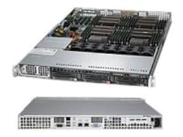 Supermicro SuperServer Barebones 1U RM Xeon E5-4600 Family(x4) Max.1TB DDR3 3x3.5 HS Bays PCIe GNIC 1400W, SYS-8017R-TF+, 14765039, Servers