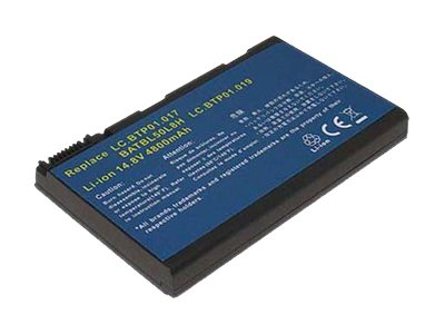 Total Micro 4800mAh 8-Cell Battery for Acer, LC.BTP01.017-TM, 15609071, Batteries - Notebook
