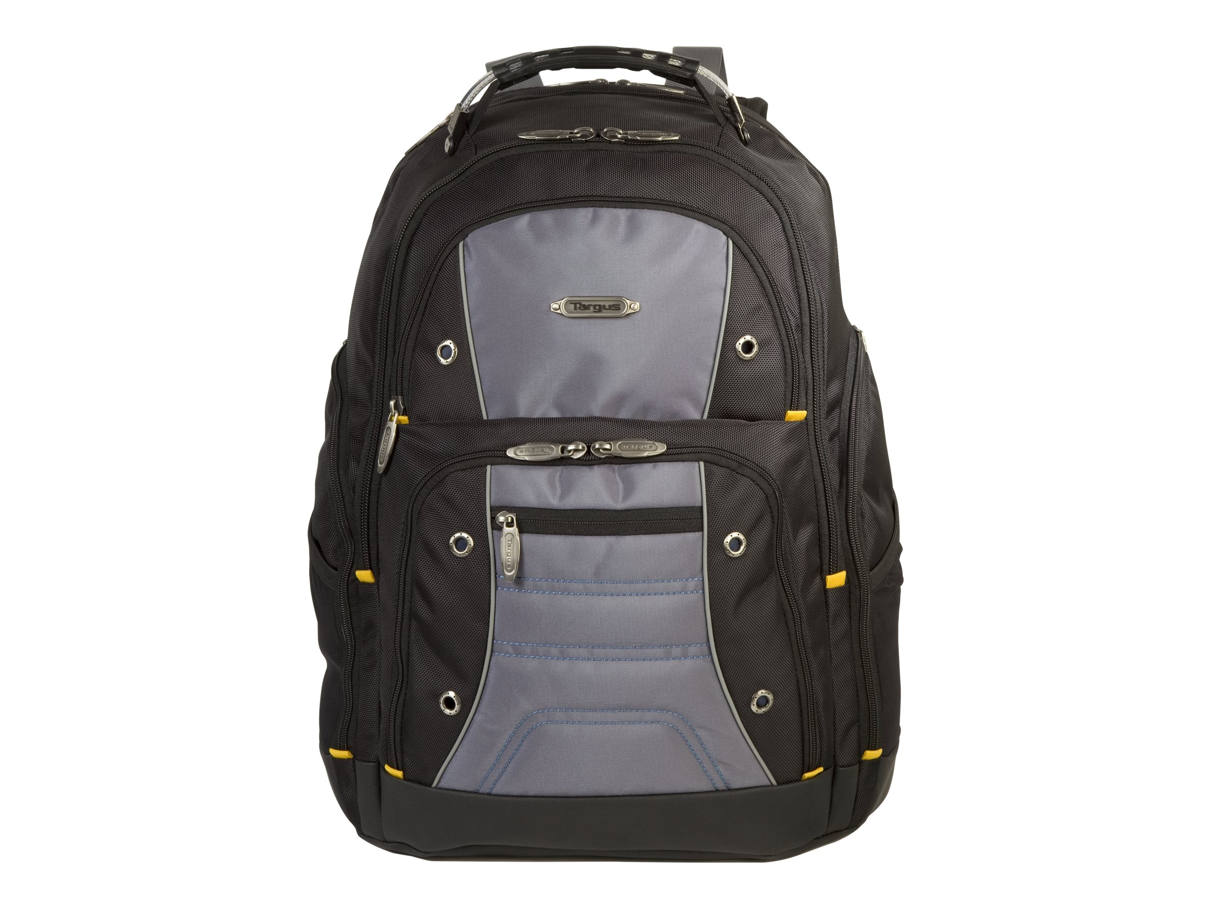 Targus Drifter II Backpack, Black with Colored Trim, TSB239US, 12838572, Carrying Cases - Notebook