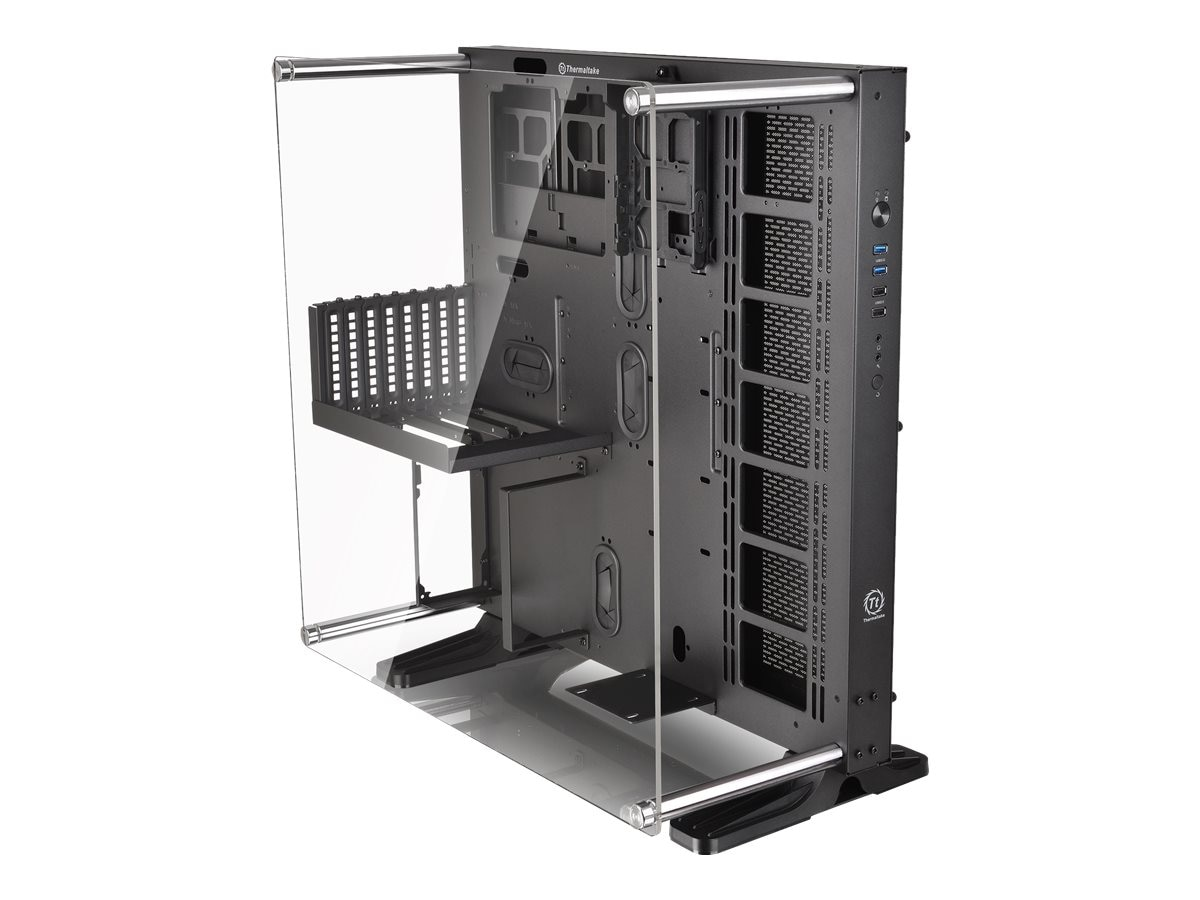 Thermaltake Chassis, Core P5 Tempered Glass Edition ATX Wall-Mount Case, Black