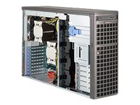 Supermicro SuperWorkstation 7047AX 4U Tower Xeon E5-2600 Family Max.512GB DDR3 8x3.5 HS SATA Bays 2x1280W