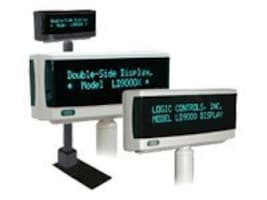 Logic Controls TELESC POLE DISP 95MM USB      MNTRLOGIC OPOSJPOS COMMAND SETS BEIGE, LD9900TUP-GY, 6275911, POS Pole Displays