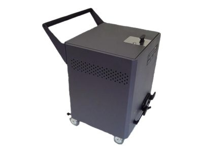 Datamation Charge and Sync Cart for up to 24 iPads, DS-MINI-IPCS-24, 15025702, Computer Carts