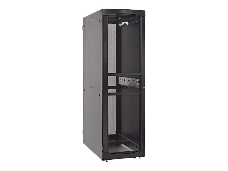 Eaton RS Server Enclosure w  Sides, 42U x 600mm x 1200mm, Black