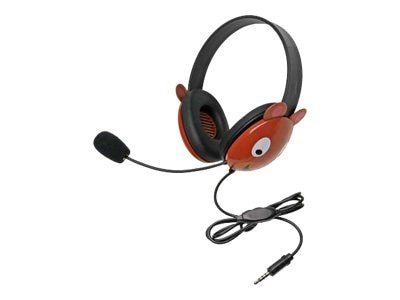 Ergoguys Listening First Stereo Headset with 3.5mm Plug, Bear, 2810-TBE