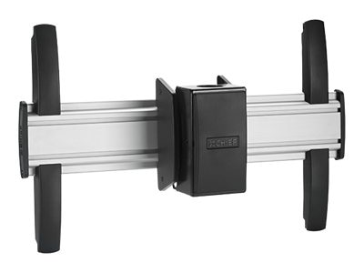 Chief Manufacturing FUSION Large Flat Panel Ceiling Mount for Displays up to 125 Pounds, Silver