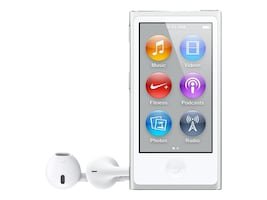 Apple 16GB iPod nano - Silver, MKN22LL/A, 25875081, DMP - iPod Nano