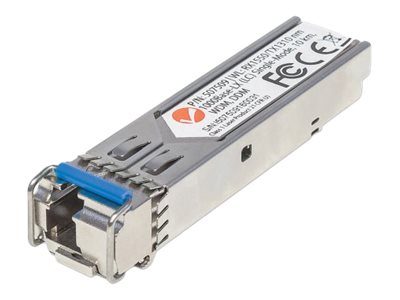 Intellinet GE Fiber WDM SFP Single-mode RX1550 Optical Transceiver Module
