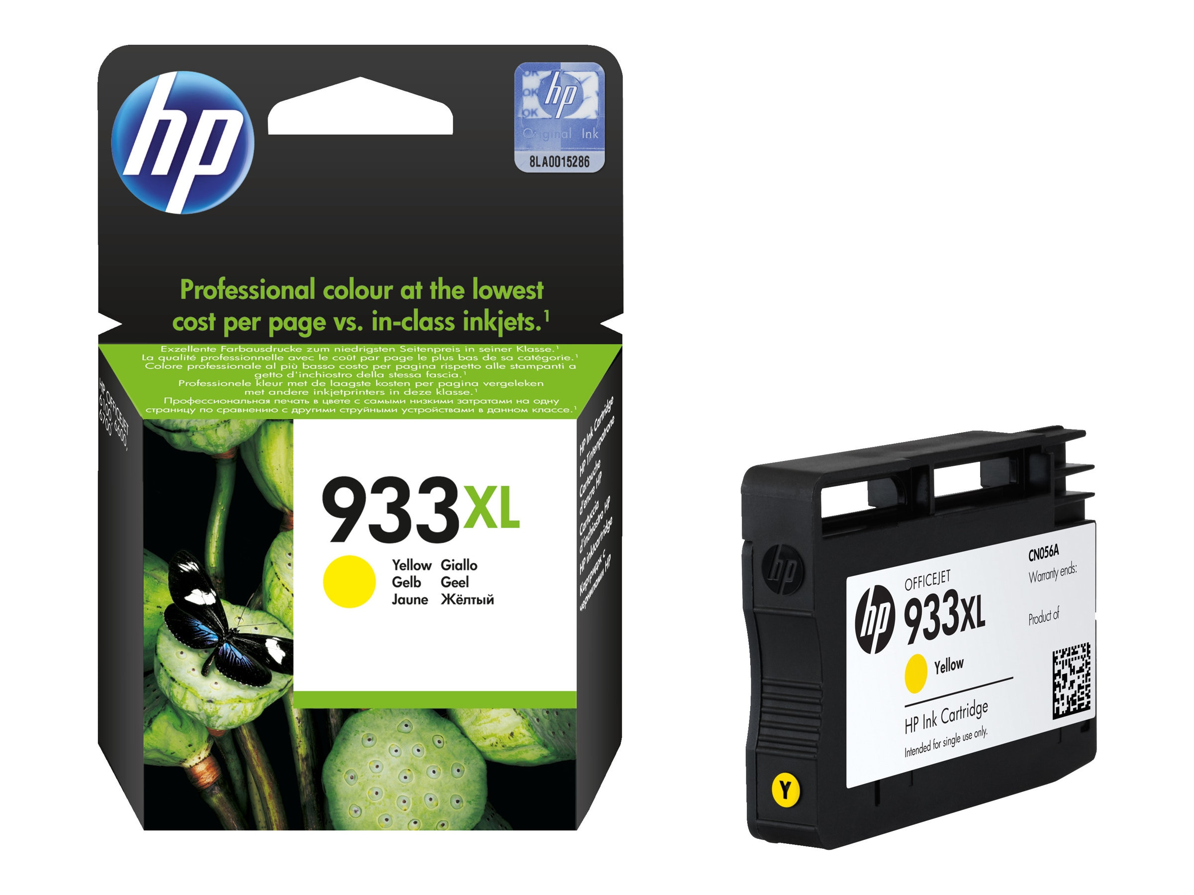 HP 933XL (CN056AN) High Yield Yellow Original Ink Cartridge