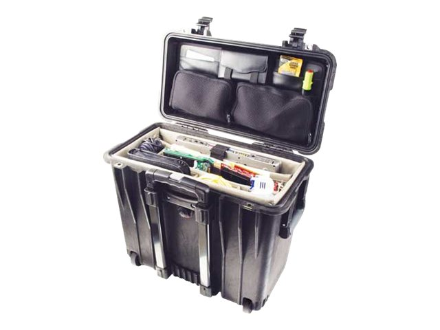 Pelican 1447 Top Load Hard Case Silver Padded Dividers Lid Organizer, 1440-005-180, 17265101, Carrying Cases - Other