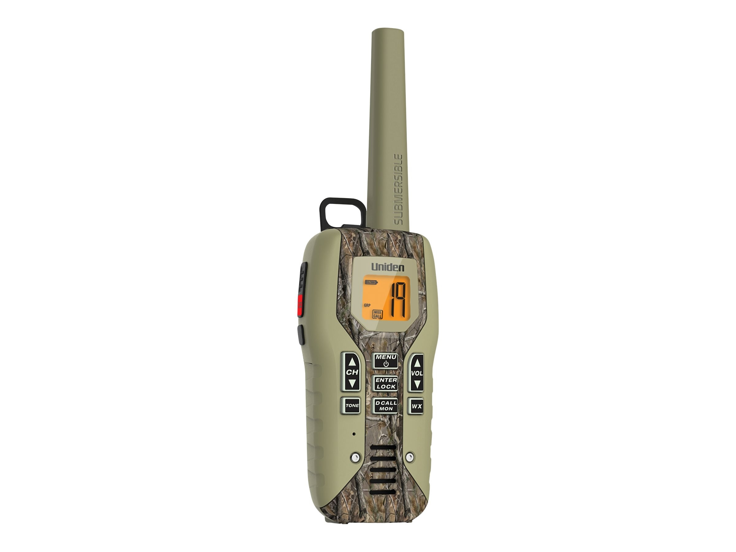 Uniden GMRS FRS 50-Mile Radio w  Privacy Codes, Weather Alerts & Headsets - Camo, GMR5088-2CKHS