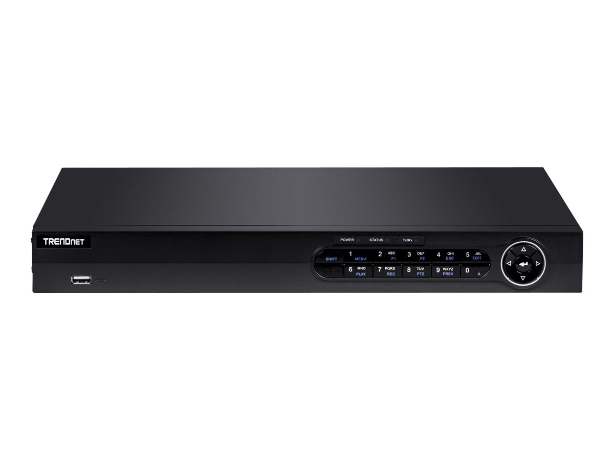 TRENDnet 8-Channel HD PoE+ NVR with 2 TB HDD