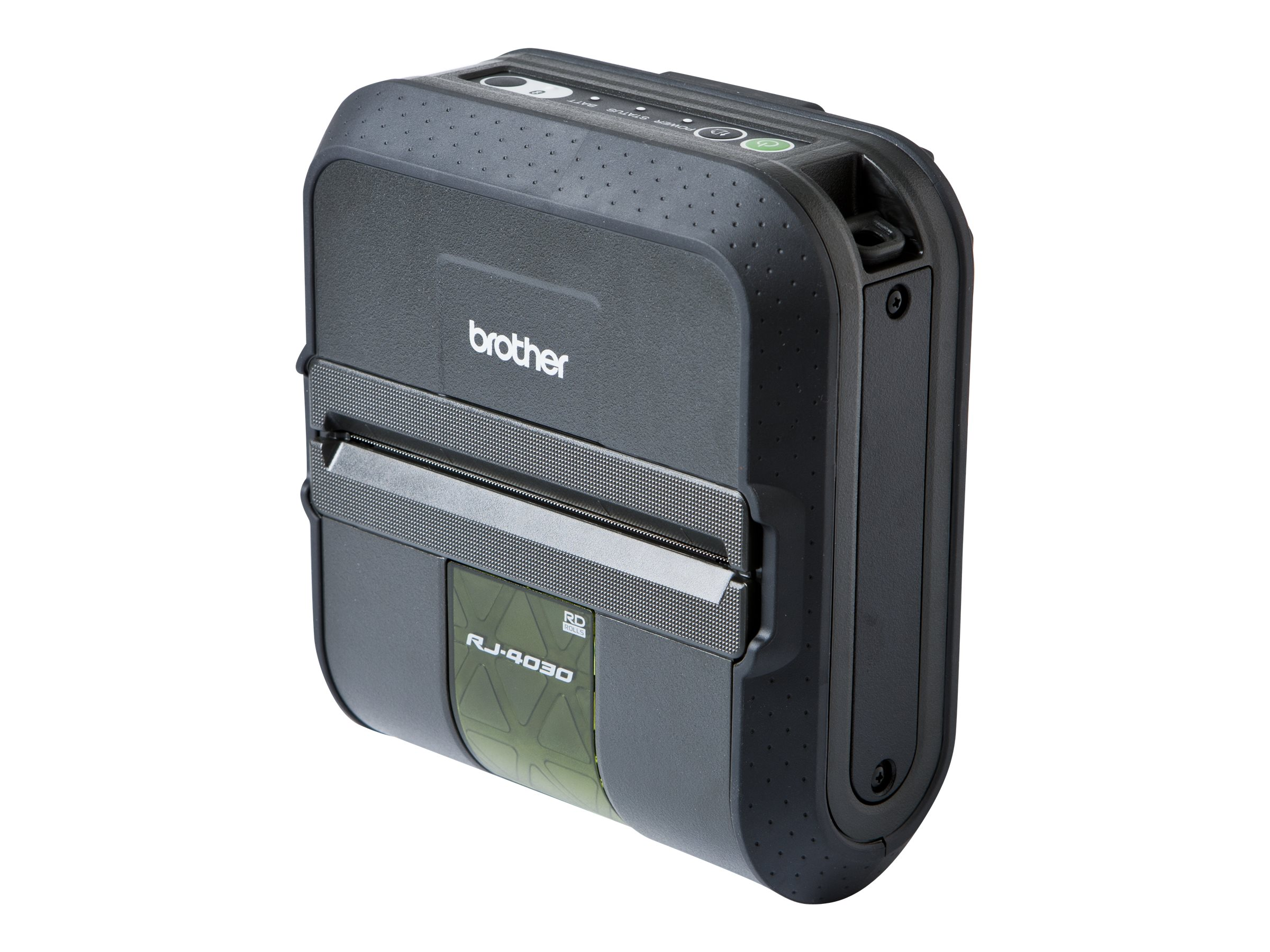 Brother RuggedJet RJ4030 Mobile Printer w  Bluetooth & Battery, RJ4030-K, 13543160, Printers - Label
