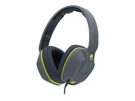 Skullcandy Crusher Headphones - Gray Hot Lime Hot Lime, S6SCGY-134, 23836695, Headsets (w/ microphone)