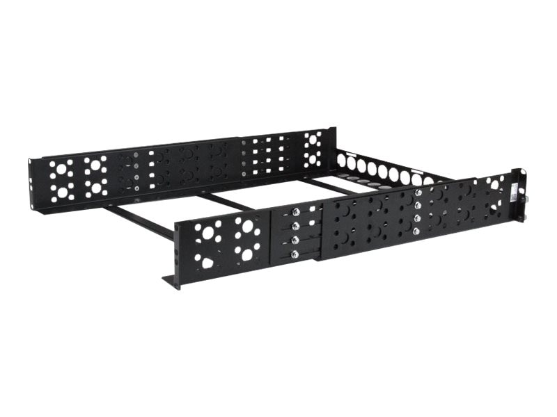 StarTech.com Fixed 19 Adjustable Depth Universal Server Rack Rails, 2U, UNIRAILS2U, 13552824, Rack Mount Accessories