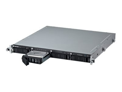 BUFFALO 8TB TeraStation 5400RN WSS 1U Rackmount NAS, WS5400RN0804S2, 19021725, Network Attached Storage