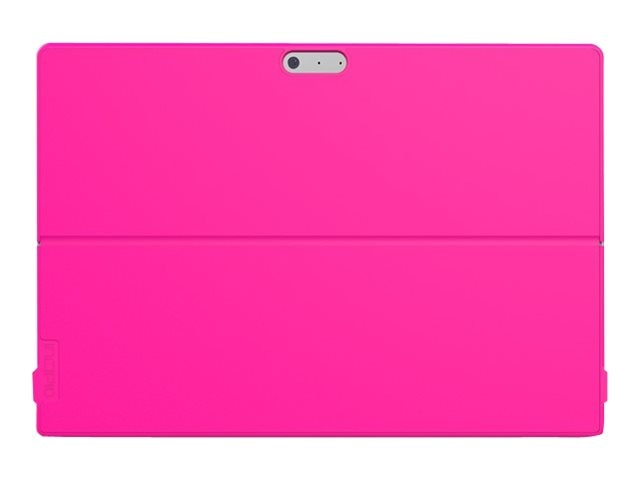 Incipio Feather [Advanced] Slim Case w  Shock Absorbing Frame for Microsoft Surface Pro 4, Pink, MRSF-093-PNK