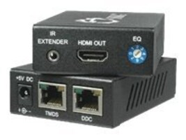 Siig HDMI Extender over (2) Cat5e with IR, CE-HM0052-S1, 9574385, Video Extenders & Splitters