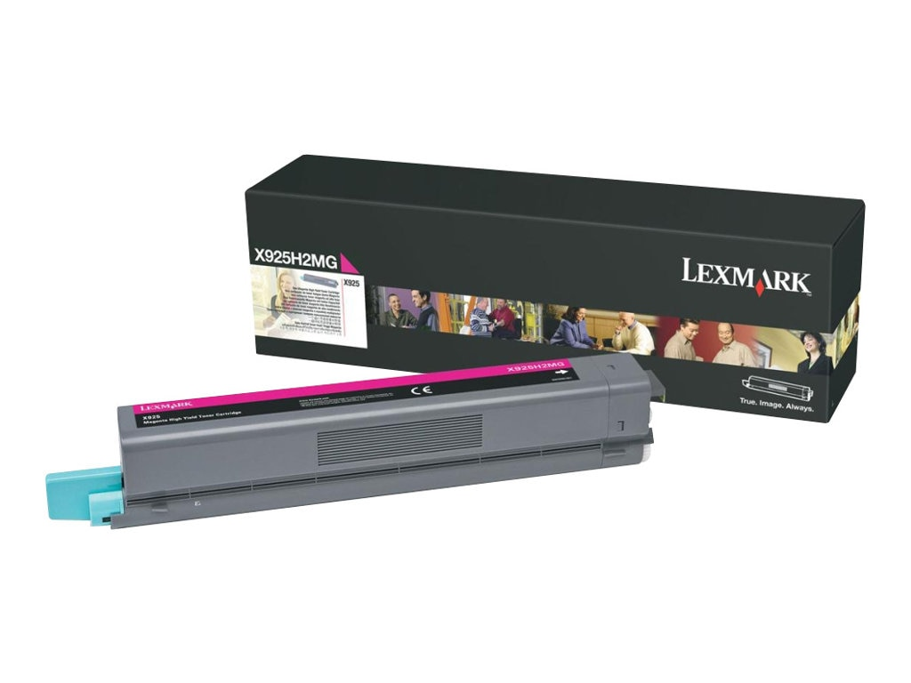 Lexmark Magenta High Yield Toner Cartridge for X925de Color Laser MFP, X925H2MG