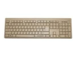 Keytronic PS2 COMPACT KEYBOARD GRAY PC   ACCSLARGE L SHAPE ENTER KEY, KT400P4, 9465509, Keyboards & Keypads