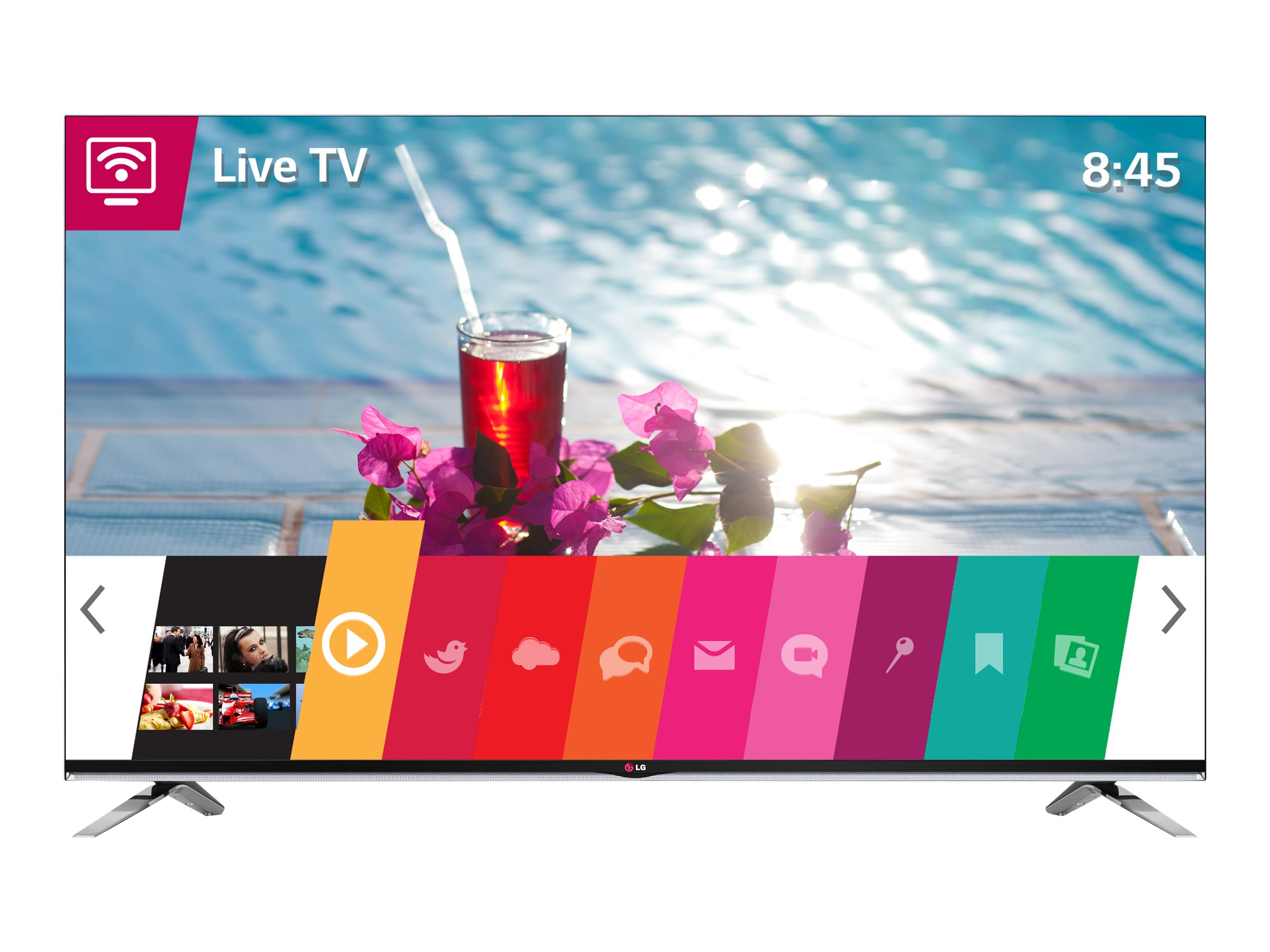 LG 47 LY970H Full HD LED-LCD Commercial TV, Black, 47LY970H