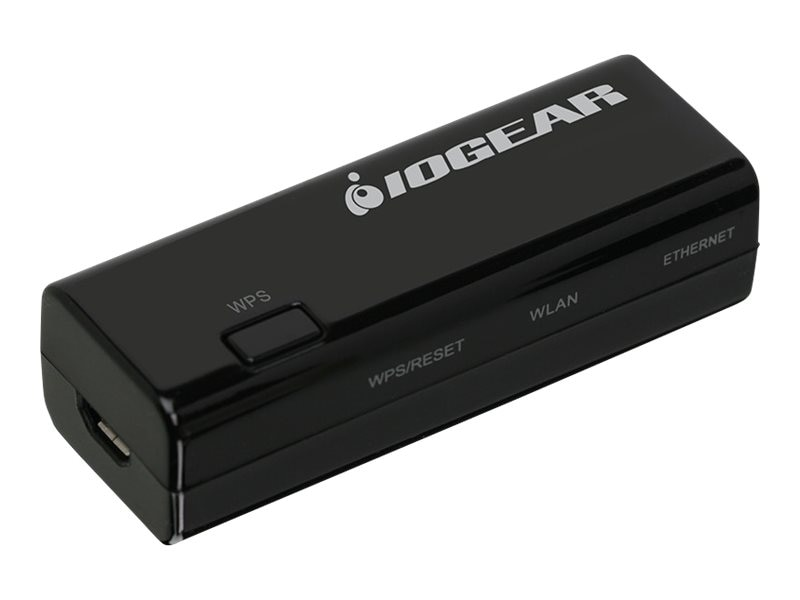 IOGEAR Ethernet-2-WiFi Universal Wireless Adapter, GWU637, 30981399, Wireless Adapters & NICs
