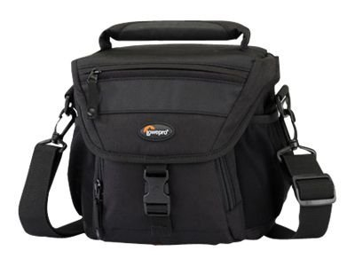 Lowepro Nova 140 AW Shoulder Bag, Black, LP35244-PEU, 14415291, Carrying Cases - Camera/Camcorder