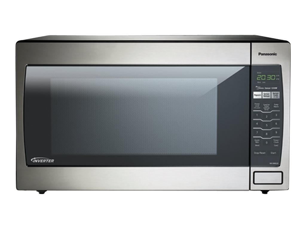 Panasonic 1250W 2.2 Cubic Feet Countertop Microwave, Stainless Steel, NN-SN952-S, 17238550, Home Appliances