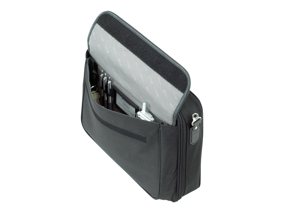 Targus Traditional Notepac Notebook Case, Fits 15.6 Screen, Black