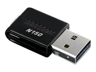 TRENDnet 150Mbps Mini Wireless N USB Adapter, TEW-648UB