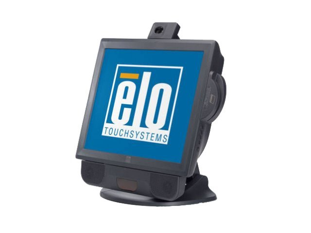 ELO Touch Solutions 17A2 AiO Touchcomputer Point of Sale Terminal Celeron M 1GHz 40GB NIC 17 LCD W7P, E898496