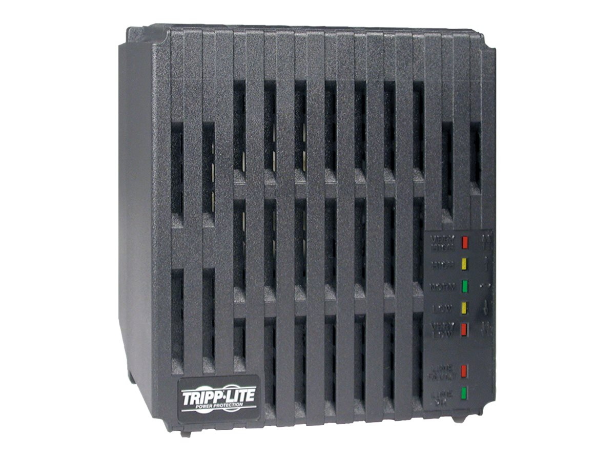 Tripp Lite 1800W Line Conditioner 120V with Automatic Voltage Regulation (AVR) (6) Outlets