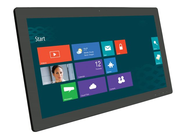 Planar Helium 27 PCT2785 Full HD Multi-Touch Screen LED Monitor with Webcam, Black