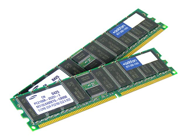 ACP-EP 4GB PC2-5300 240-pin DDR2 SDRAM DIMM Kit for Select ProLiant Models, 397413-B21-AM, 18200342, Memory