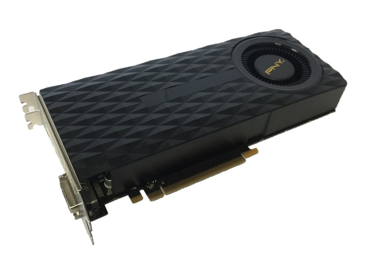 PNY GeForce GTX970 PCIe 3.0 Graphics Card, 4GB GDDR5, VCGGTX9704R2XPB, 30715322, Graphics/Video Accelerators