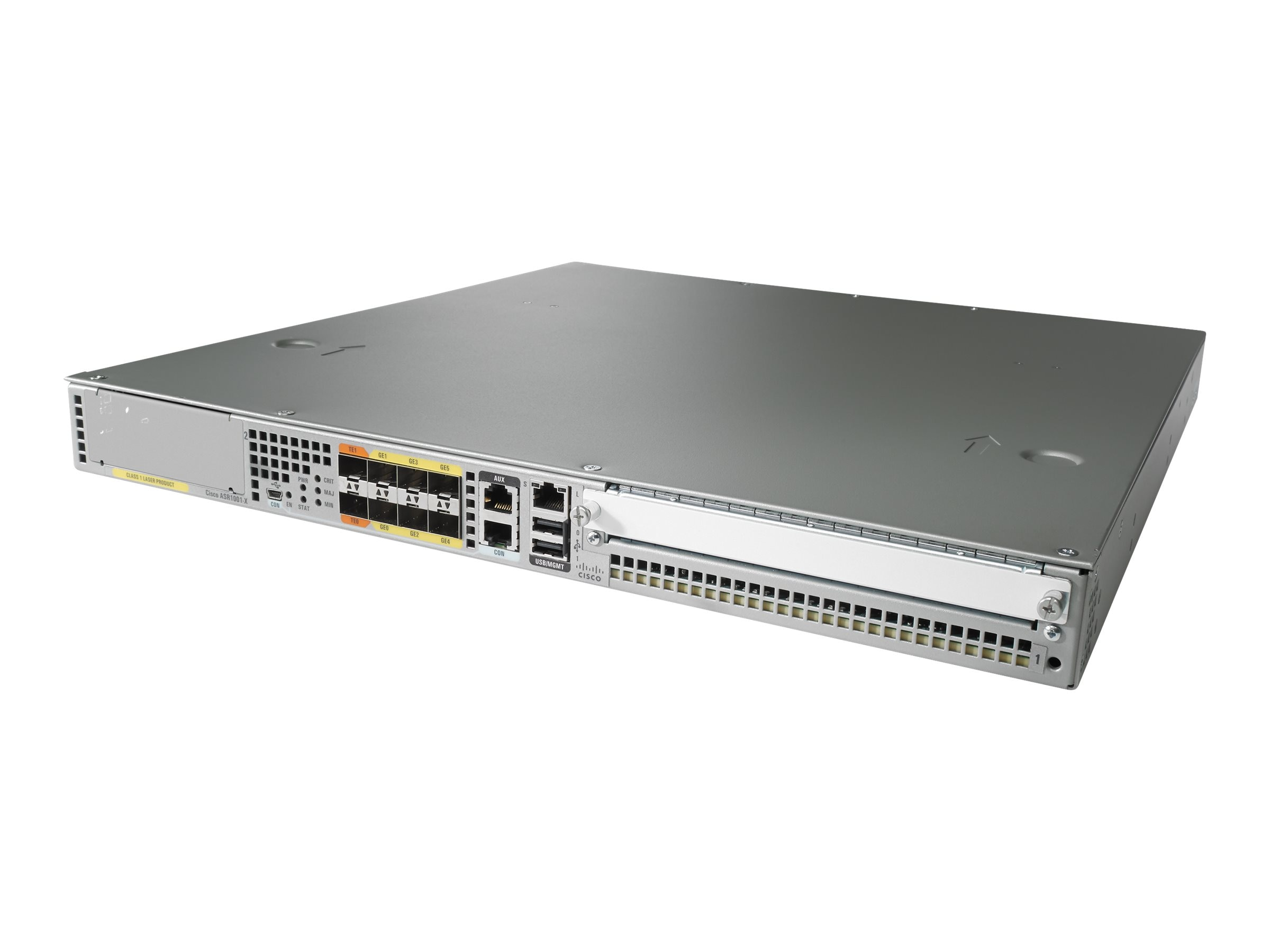 Cisco ASR1001-X Chassis 6 Built-In GE Dual P S