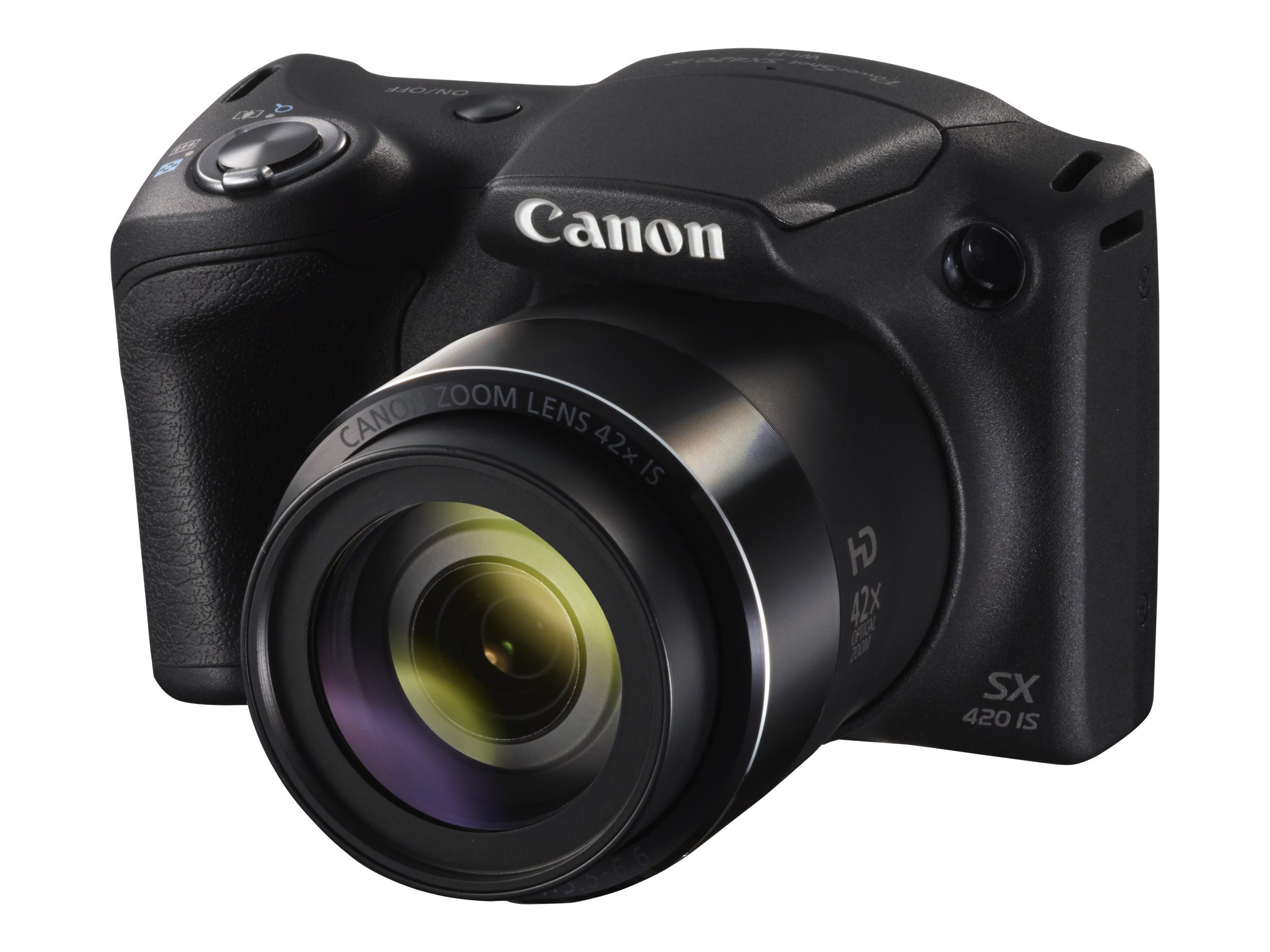 Canon PowerShot SX420 IS Digital Camera, Black