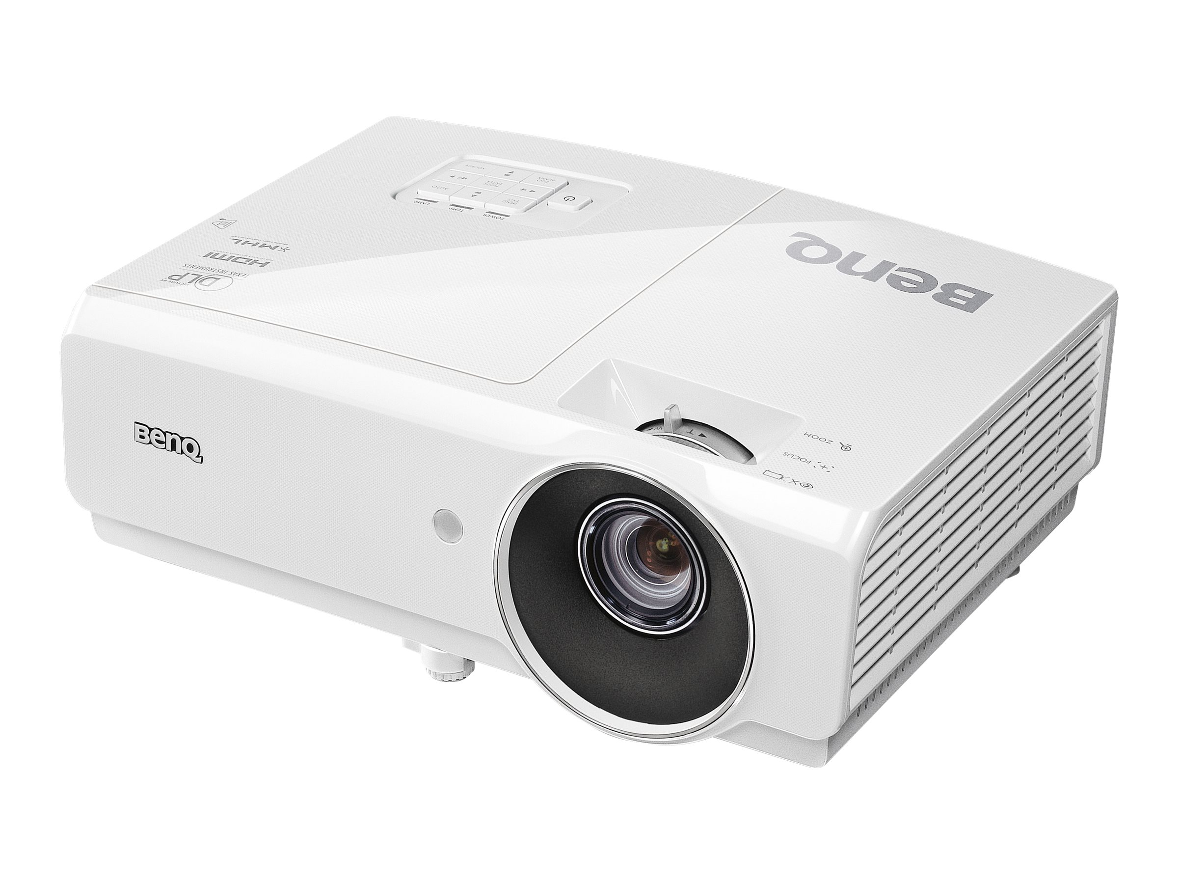 Benq MH741 1080P DLP Projector, 4000 Lumens, White