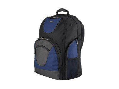 Toshiba 18 Extreme Backpack, Black, Blue, PA1500U-1BS8, 11842271, Carrying Cases - Notebook