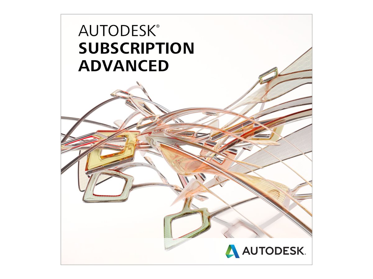 Autodesk Corp. AutoCAD Plant 3D Commercial Subscription with Phone Support (1 year) (Renewal), 42600-00011G-S007-VC