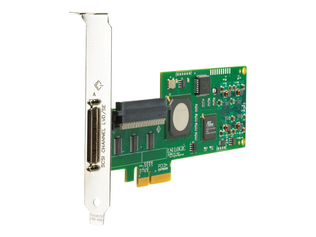 HPE Remanufactured Integrity PCI-E Ultra320 SCSI Adapter, AT134AR, 31895257, Host Bus Adapters (HBAs)