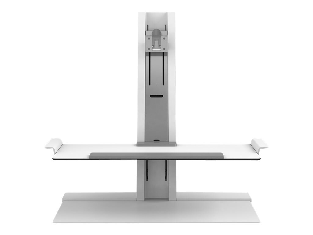 Humanscale Quickstand - Sit Stand Workstation, Single Heavy Display, Small Platform