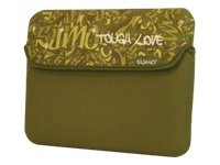 Mobile Edge 10 Graffiti Netbook Sleeve, Green, ME-SUMO77109, 9741067, Protective & Dust Covers