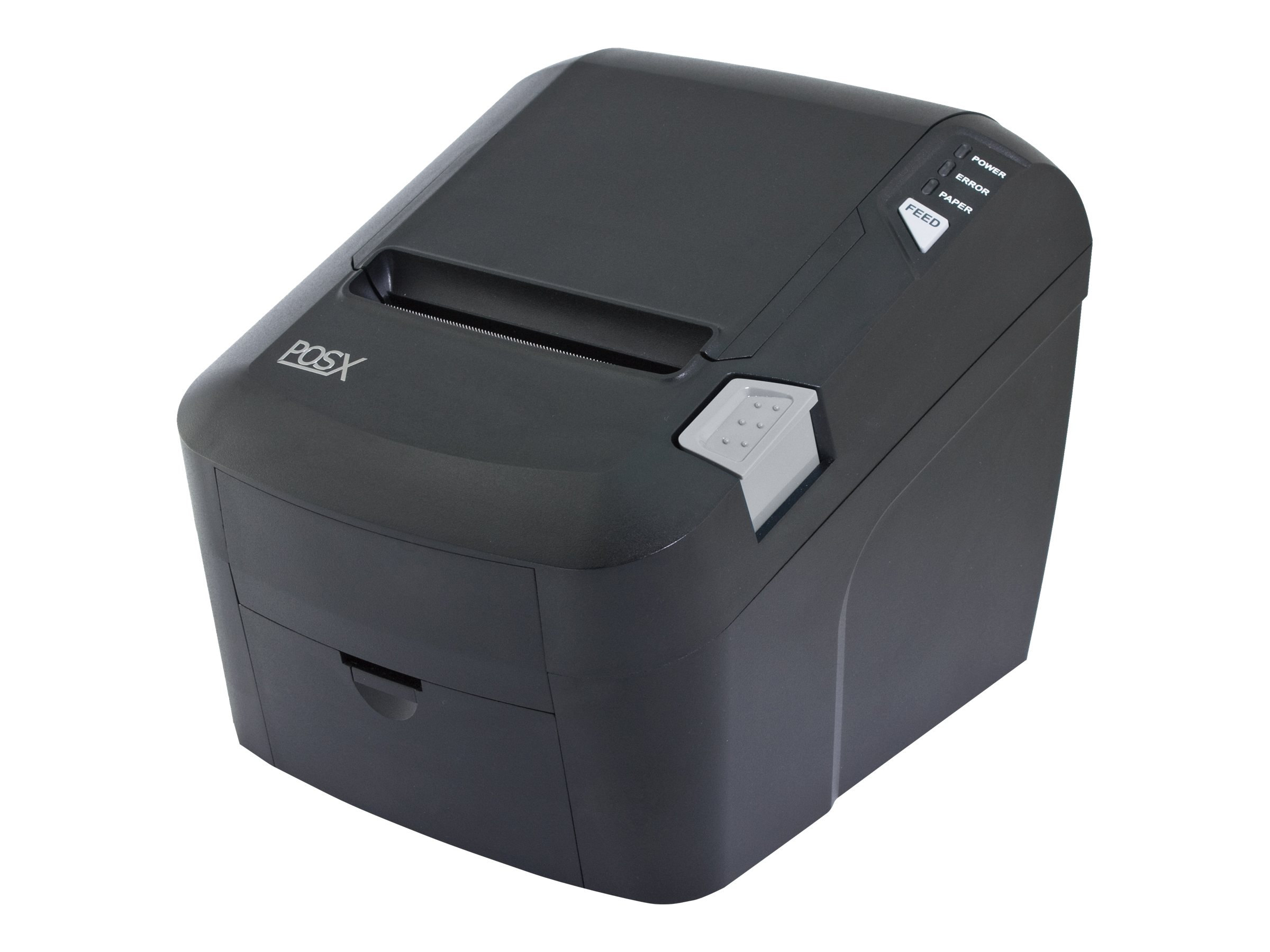 Pos-X EVO Green USB Serial Ethernet Thermal Receipt Printer w  AC, EVO-PT3-2GUSE, 16021631, Printers - POS Receipt