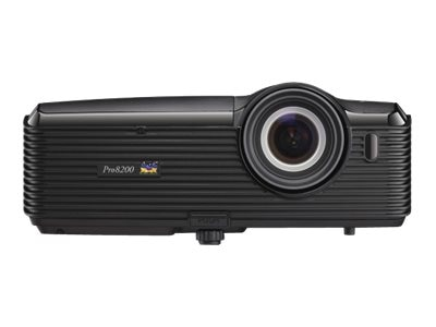ViewSonic Pro8200 Full HD DLP Projector with Speakers, 2000 Lumens, PRO8200