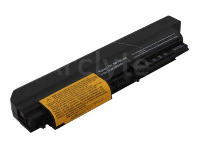 Arclyte Battery Performance-Lithium Li-Ion 10.8V 5200mAh 6-cell for Lenovo Thinkpad R400, R61, T400 Series, N00322, 16204631, Batteries - Notebook
