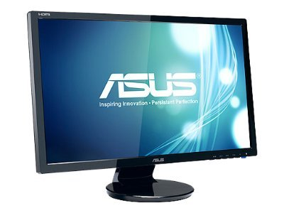 Asus 23.6 VE247H LED-LCD Full HD Monitor, Black, VE247H
